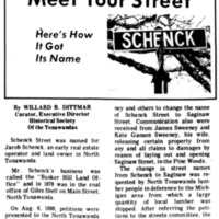 Meet Your Street - Schenck Street (Tonawanada News, 1971-02-05).jpg