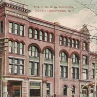 Y.M.C.A. Building, North Tonawanda, postcard (1908).jpg