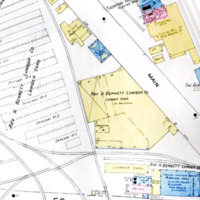 Ray H. Bennett Lumber Co., map detail (Sanborn Map Company, 1913).jpg
