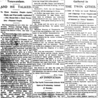 He Called, William Jennings Bryan visits Tonawandas, article (Tonawanda News, 1896-05-16).jpg