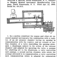 William Brauer patent for Niagara MIMC, suction wind chest, illustration (1909-07-22).jpg