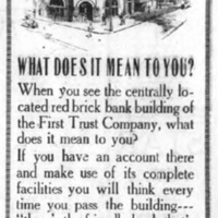 First Trust Company, ad (Tonawanda Evening News 7-15-1921).jpg