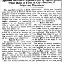 Appellate Court Upholds in NT in Von Kleist Action, article (Tonawanda News, 1936-05-15).jpg