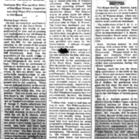 Anniversary, Former News editor George S. Hobbie reflects on Tonawanda of 1880, article (1900-04-03).jpg
