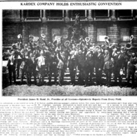 Kardex Company Holds Enthusiastic Convention, photo article (Tonawanda News, 1922-09-13).jpg