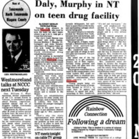 Daly, Murphy in NT on teen drug facility, article (Tonawanda News, 1979-11-20).jpg
