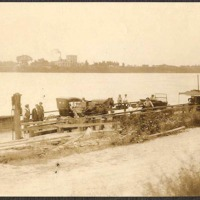 Whitehall Ferry from end of state road to Tonawanda, photo (c1925).jpg