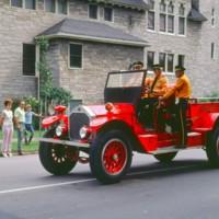 Old Blitz fire truck, parade, photo (1972).jpg
