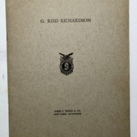 G Reid Richardson, biographical pamphlet (1939).jpg