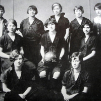 Feltonian yearbook, girls basketball team, photo (1926).jpg