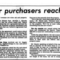 City, Wurlitzer purchasers reach agreement, article (Tonawanda News, 1978-04-20).jpg