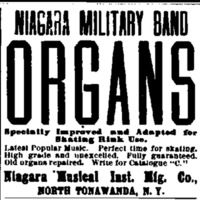 Niagara Military Band Organs, ad (New York Clipper, c1907).jpg