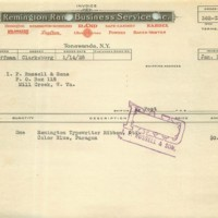 Remington Rand, letterhead receipt (1928).jpg