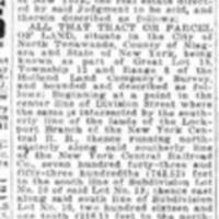 Notice of sale of Artizan (Tonawanda News, 1930-01-15).jpg