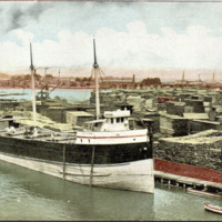 Birdseye View of the Twin Cities Harbor and Lumber District, postcard (c1910).jpg