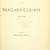 Landmarks of Niagara County, title page (1897).jpg