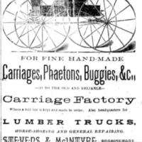 Stevens and McIntyre Carriage Factory, Sweeney Street, ad (Tonawanda News, 1893).jpg