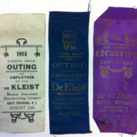de Kleist annual employee outing ribbons (1904-1906).jpg