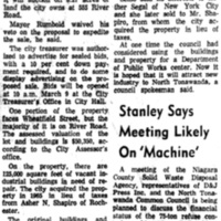 NT planning to auction River Rd tract, 555 River, article (Ton News, 1967-02-15).jpg