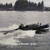 La Truda 2nd, Niagara River racing boat, postcard (c1930).jpg