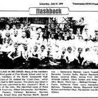 Pine Woods 3rd Graders, photo article (1979-07-21, Tonawanda News).jpg