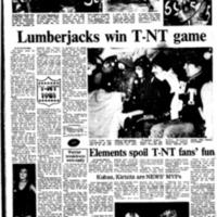 Lumberjacks win T-NT game, streaker reference, photo article (Tonawanda News, 1981-11-07).pdf
