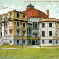 Felton Highschool, postcard (c1911).jpg