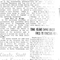 Bascule, Swing Bridge Failures, article (Tonawanda News, 1929-07-02).jpg