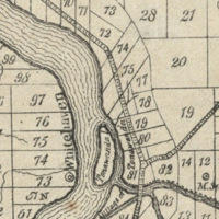 Pettit Creek on map (1838).jpg