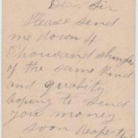 Postcard to Stocum Lumber dealer, reverse (1877-06-16).jpg