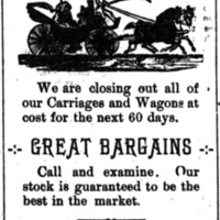 McIntire and Miller Carriages and Wagons, Main and Sweeney, ad (Tonawanda News, 1896).jpg
