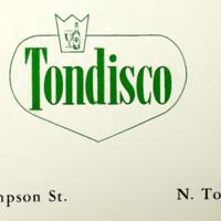 Tondisco, logotype in ad (1966).jpg